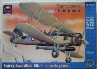 Ark Models 1/72 72013 Fairey Swordfish MK.I